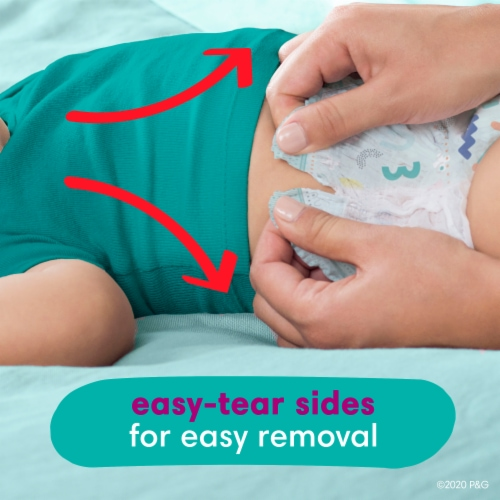 Pampers Cruisers 360 Fit Size 4 Baby Diapers Perspective: top