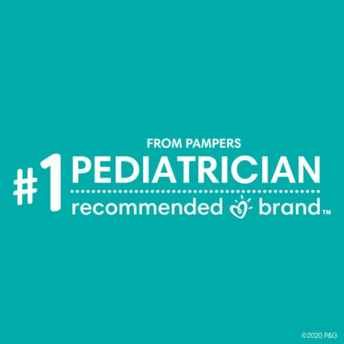Pampers Sensitive Perfume Free Baby Wipes Perspective: top