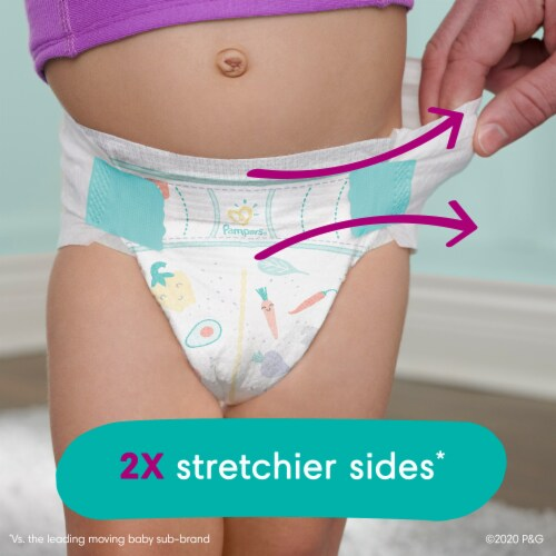 Pampers Cruisers Size 5 Diapers Perspective: top