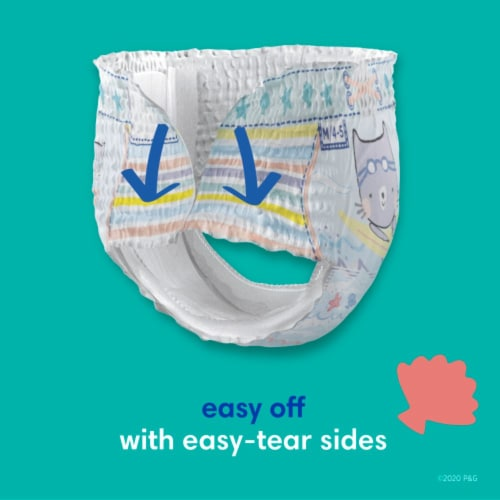Pampers Splashers Small Disposable Swim Pants Perspective: top