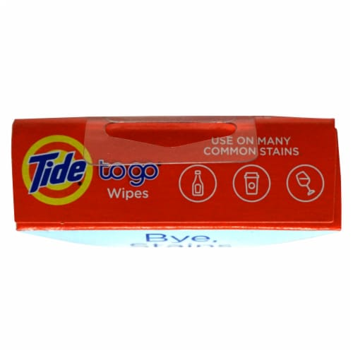 Tide To Go Instant Stain Remover Wipes Perspective: top