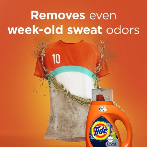 Tide Plus Febreze Freshness Sport Odor Defense HE Turbo Clean Liquid Laundry Detergent Perspective: top