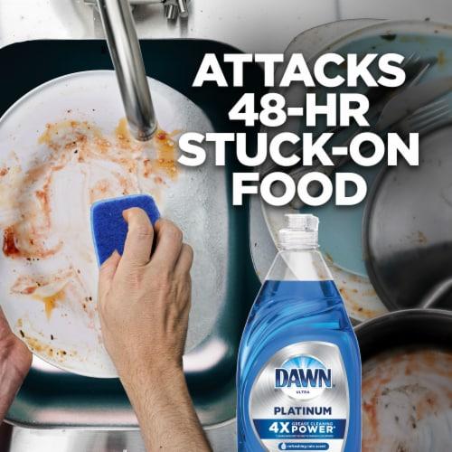 Dawn® Ultra Platinum Refreshing Rain Scent Dish Soap Perspective: top