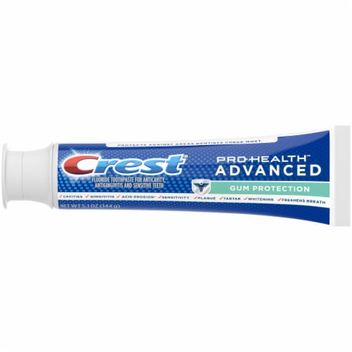 Crest Pro-Health Toothpaste Advanced Gum Protection Perspective: top