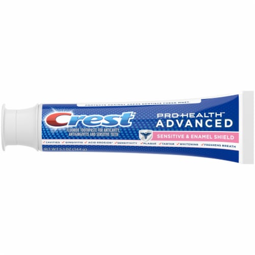 Crest Pro-Health Advanced Sensitive Enamel Shield Toothpaste Perspective: top