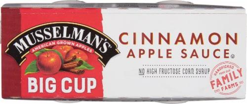 Musselman's Cinnamon Applesauce Big Cup Perspective: top