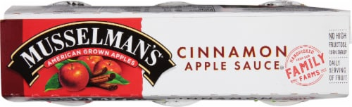 Musselman's® Cinnamon Applesauce Cups Perspective: top