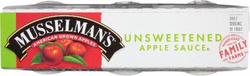 Musselman's Natural Applesauce Perspective: top