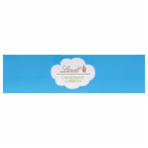 Lindt Solid Milk Chocolate with Hazelnut Carrots Perspective: top