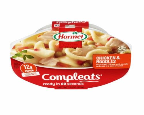 Hormel Compleats Noodles & Chicken Perspective: top