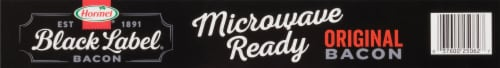 Hormel® Black Label® Microwave Ready Original Bacon Perspective: top