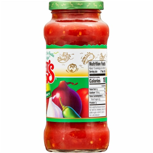 Chi-Chi's Thick & Chunky Mild Salsa Perspective: top