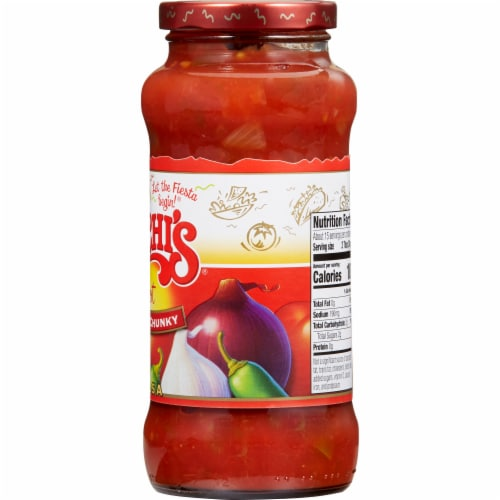 Chi-Chi's Hot Thick & Chunky Salsa Perspective: top