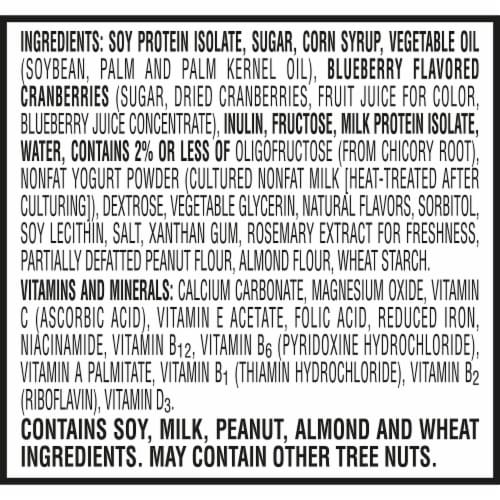 Kellogg's® Special K® Blueberry Protein Bars Perspective: top