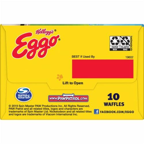 Eggo PAW Patrol Frozen Breakfast Waffles Homestyle Perspective: top