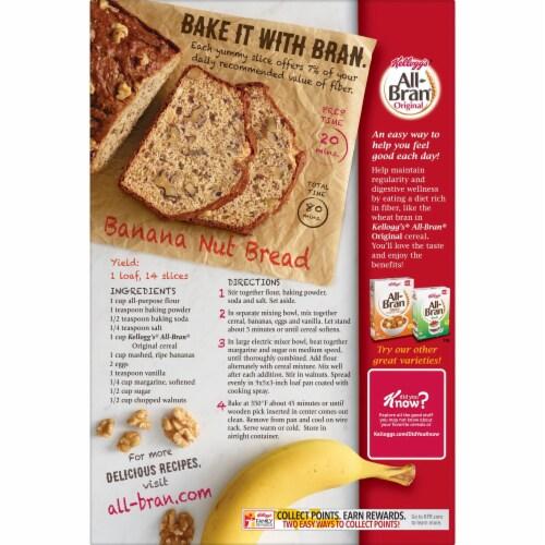 Kellogg's All-Bran Breakfast Cereal Original Perspective: top