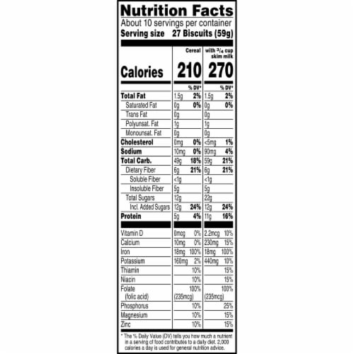 Kellogg's Pumpkin Spice Mini-Wheats Cereal Perspective: top