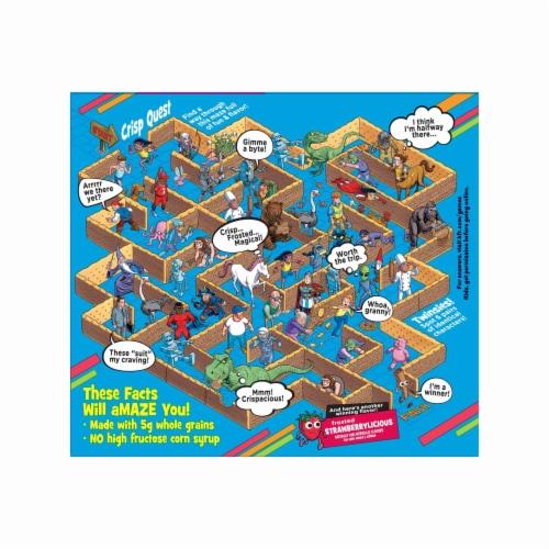 Kellogg's Pop-Tarts Crisps Frosted Brown Sugar Cinnamazing Perspective: top