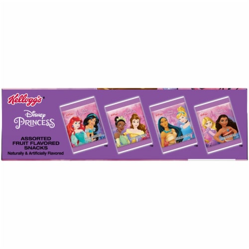 Kellogg's® Disney Princess Fruit Snacks Perspective: top
