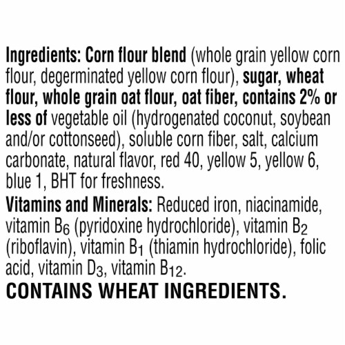 Froot Loops Jumbo Snax Snacking Cereal Perspective: top