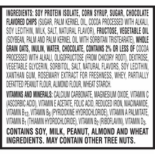 Special K Chocolatey Chip Protein Meal Bars Perspective: top