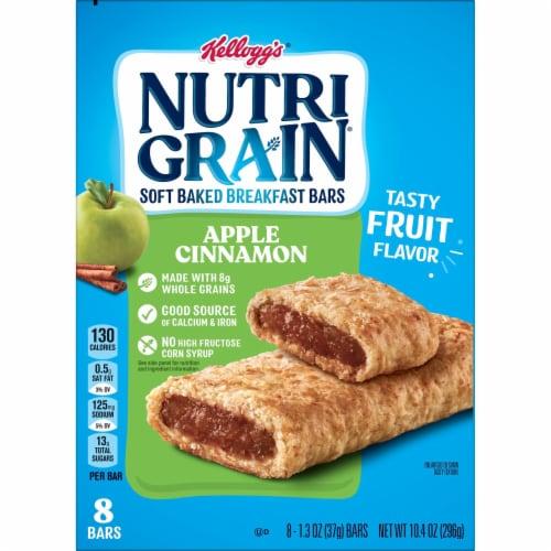 Kellogg's Nutri-Grain Soft Baked Breakfast Bars Apple Cinnamon Perspective: top
