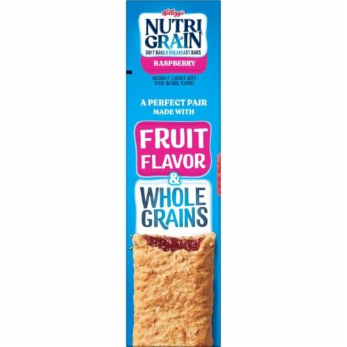 Kellogg's® Nutri-Grain® Raspberry Soft Baked Breakfast Bars Perspective: top