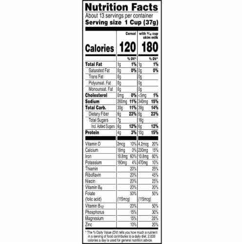 Kellogg's All Bran Complete Wheat Flakes Breakfast Cereal Perspective: top
