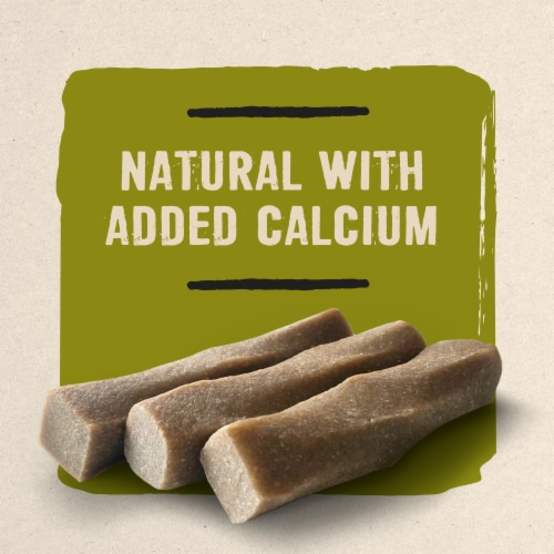 Prime Bones Chew Stick with Wild Venison Small Dog Treats Perspective: top