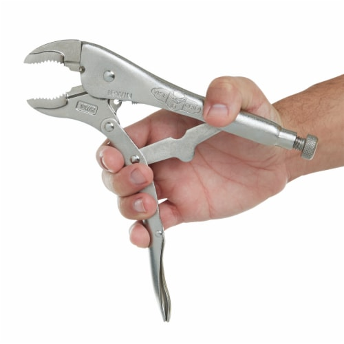 Irwin® Vise-Grip® Curved Jaw Locking Plier Perspective: top