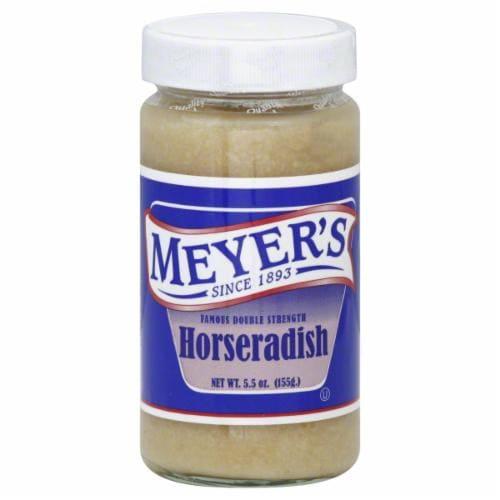 Meyer's Fresh Ground Horseradish Perspective: top