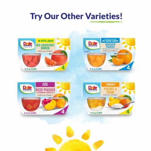 Dole® Mandarin Oranges in 100% Fruit Juice Cups Perspective: top