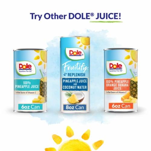 Dole® Pineapple Mango Turmeric Juice Perspective: top