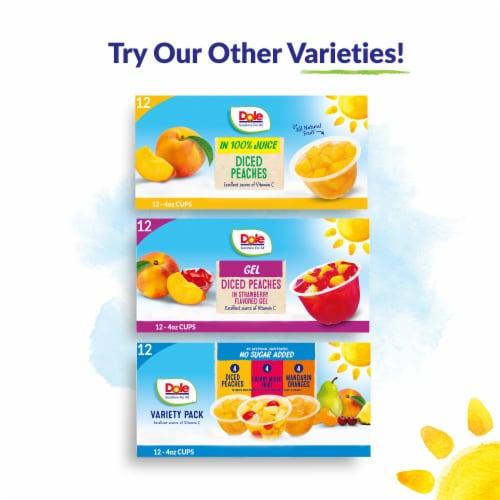 Dole® Mandarin Oranges in 100% Fruit Juice Perspective: top