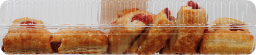 Bakery Fresh Goodness Strawberry Cream Cheese Bites 12ct Perspective: top