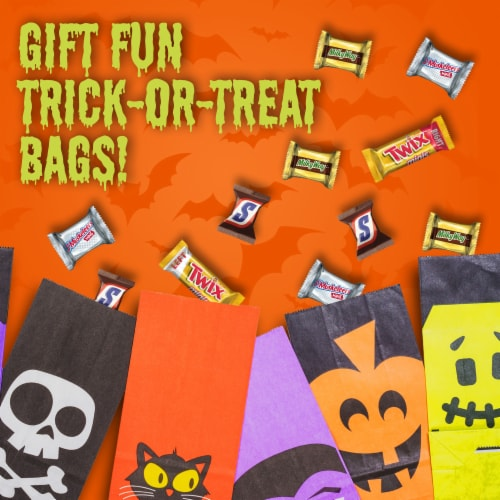 Mars Halloween Chocolate Candy Variety Bag Perspective: top