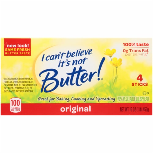 I Can't Believe It's Not Butter! All-Purpose Baking Sticks Perspective: top