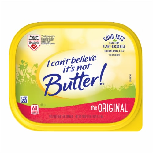 I Can't Believe It's Not Butter! Original Buttery Spread Perspective: top