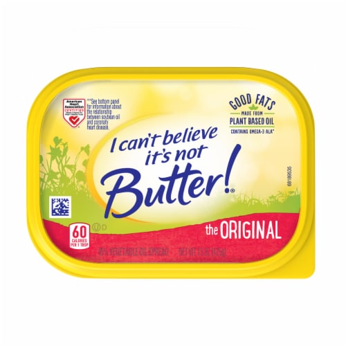 I Can't Believe It's Not Butter! Original Spread Perspective: top