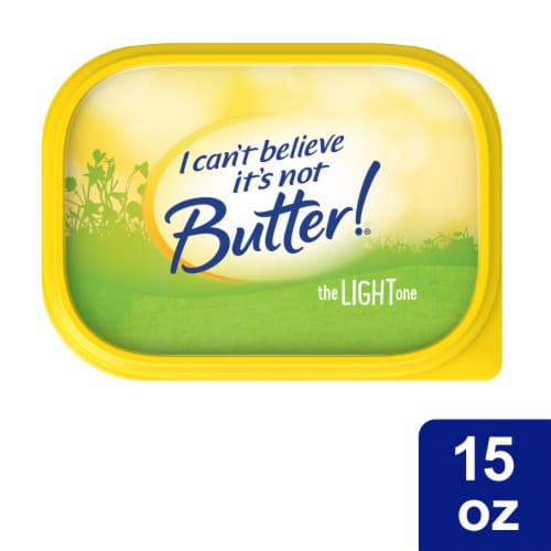 I Can't Believe It's Not Butter! The Light One Vegetable Oil Spread Perspective: top