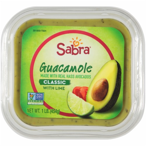 Sabra Classic Guacamole with Lime Perspective: top