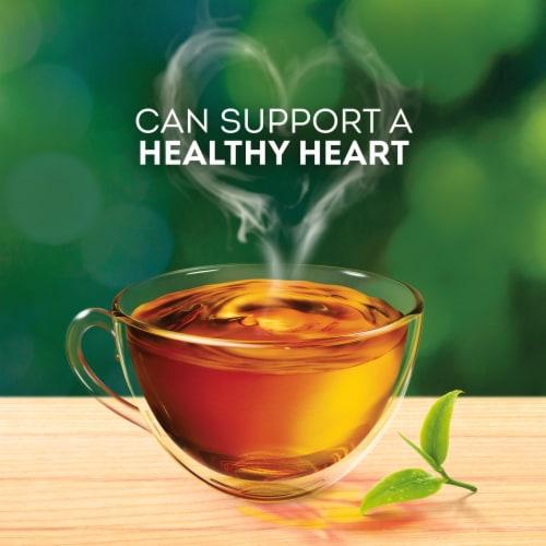 Lipton Black Tea Bags Perspective: top