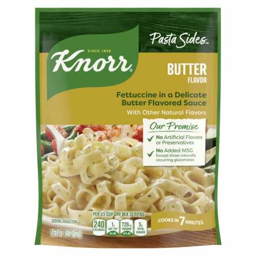 Knorr® Pasta Sides Butter Pasta Perspective: top