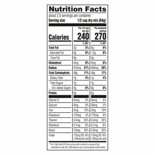 Knorr Rice Sides Chicken Flavor Rice & Pasta Blend Perspective: top