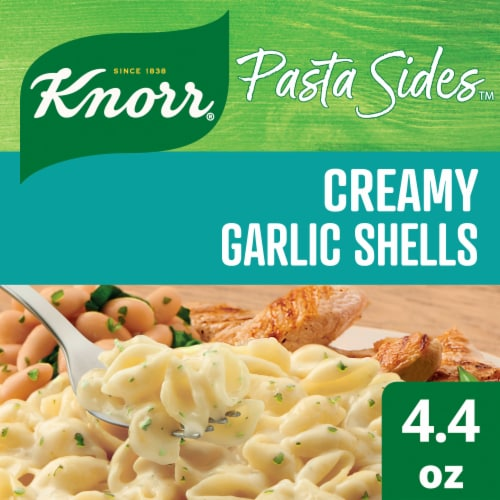 Knorr® Pasta Sides™ Creamy Garlic Shells Perspective: top