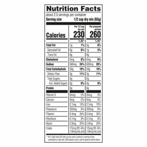 Knorr Fiesta Sides Mexican Rice Perspective: top