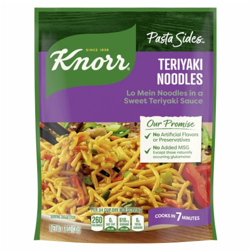 Knorr® Asian Sides Teriyaki Noodles Perspective: top