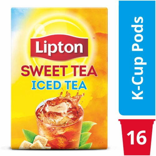 Lipton Southern Sweet Iced Tea K-Cup Pods Perspective: top