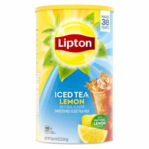 Lipton Sweetened Iced Tea with Lemon Mix Perspective: top