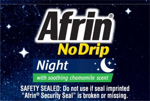 Afrin No Drip Night Nasal Relief Pump Mist Perspective: top